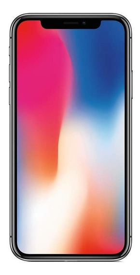 Apple iPhone X 64 GB Prata 3 GB RAM