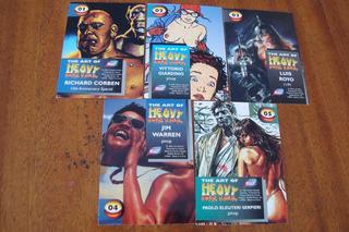 Cartao Heavy Metal / Serie Com 5 Capas Da Revista Americana