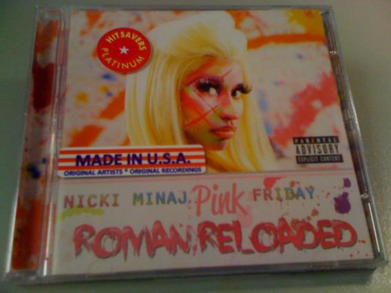 Nicki Minaj Pink Friday Roman Reloaded Cd Lacrado Importado