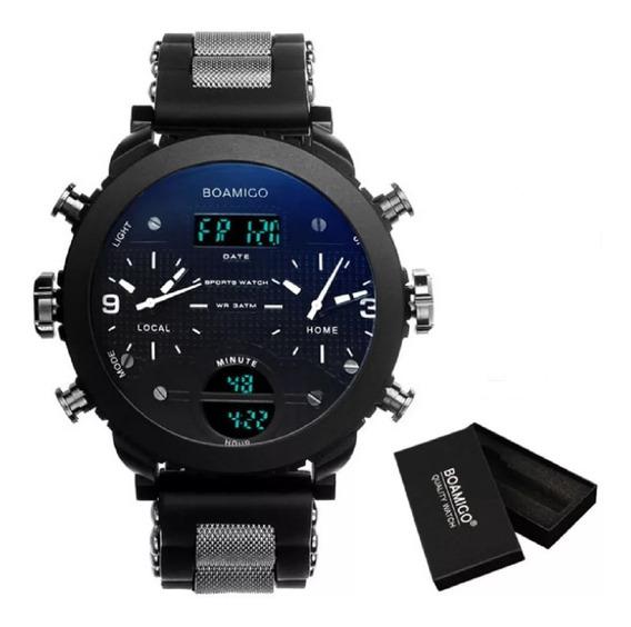 Relógio Masculino Esportivo Boamigo F905 .
