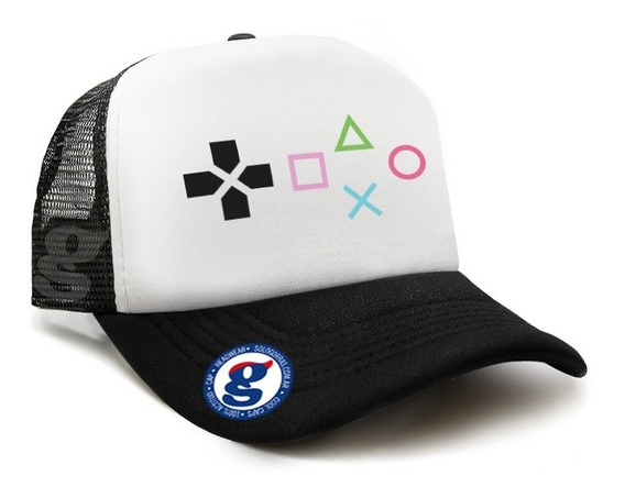 Gorra Trucker Video Juegos Control Playstation Play