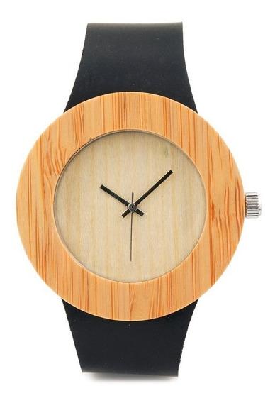 Relógio Feminino Bambu Anal. Bobo Bird C08