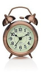 Reloj Despertador Vintage Doble Campanilla