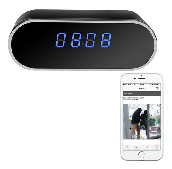 Reloj Espia P2p Wifi 1080p App Grabacion Audio Mini Camara