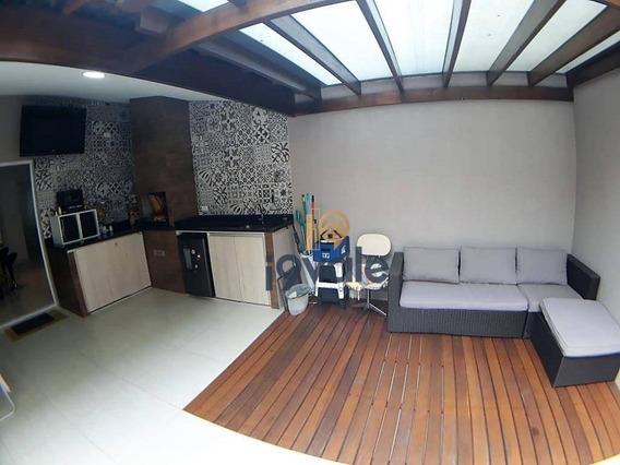 Linda Casa Residencial À Venda Em Condomínio Fechado, Jardim Califórnia, Jacareí. - Ca1017