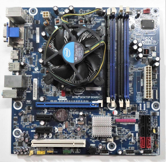 Kit Placa Mãe Intel Dh55tc + Core I5 + 2gb Ddr3