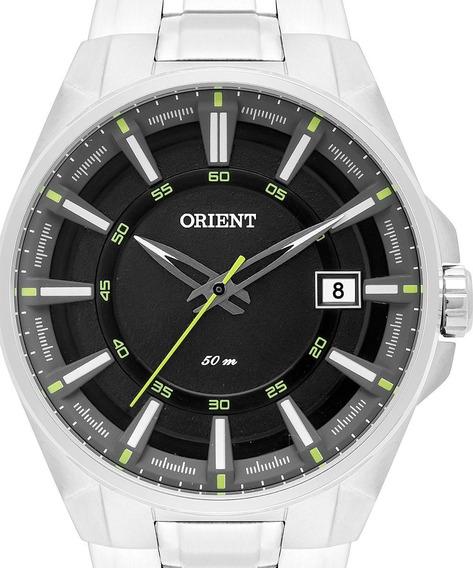 Relógio Orient Masculino Analógico Prateado Mbss1313 Pasx
