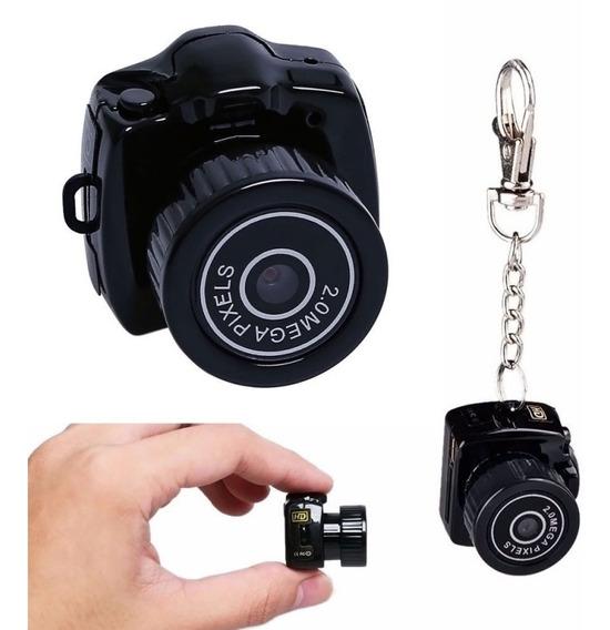Mini Micro Camera Dv Filmadora 720p 2mp Espia Y2000