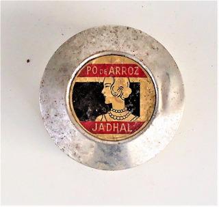 Embalagem Antiga Pó De Arroz Jadhal - Anos 40