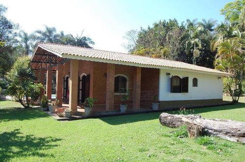 Chácara Com 3 Dormitórios À Venda, 300000 M² Por R$ 1.600.000,00 - Bairro Morro Azul - Itatiba/sp - Ch0398