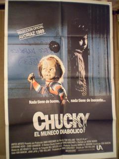 Saldo- Chucky El Muñeco Diabólico-escrito Reverso-ver Fotos