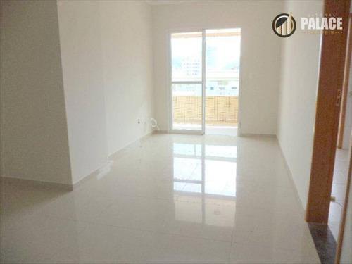 Apartamento Com 2 Dormitórios À Venda, 81 M² Por R$ 445.328,15 - Canto Do Forte - Praia Grande/sp - Ap1479