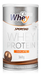 Clean Whey Isolate Sporting 360g - Promoção