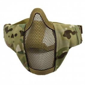 Mascara Malla Protectora Airsoft Gotcha Militar Multicam