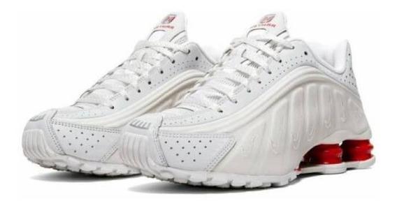 Recordar preferir hipótesis  Nike Shox Blancas Con Azul Hombre Talle 44 5 - Zapatillas Nike para Hombre  en Mercado Libre Argentina