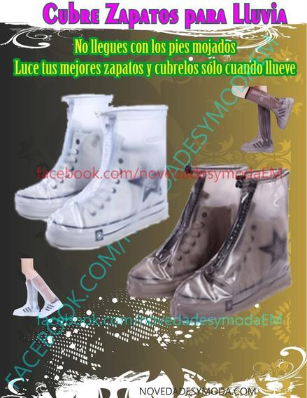 Botas Cubre Zapatos Impermeable Para Lluvia
