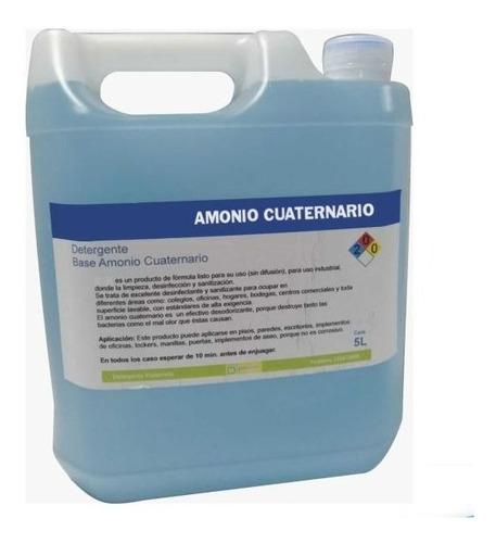 Amonio Cuaternario Bidón De 5lts