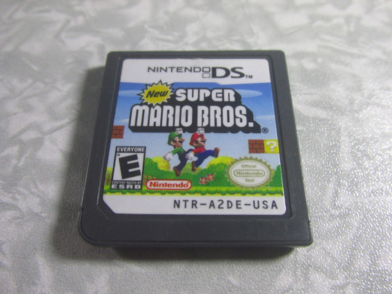 Nintendo Ds - New Super Mario Bros - Original Americano