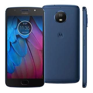 Motorola Moto G5s Xt1792 32gb 4g 5.2 Azul Dual Vitrine