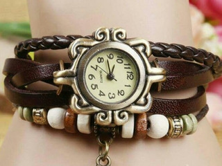 Reloj Artesanal Café