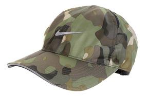 Bone Nike Militar Camuflado Dry Fit Featherligh Aba Curva