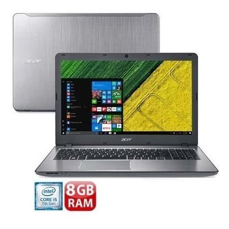 Notebook Acer Aspire F5-573 I5-7200u 8gb Ssd 120gb Promoção