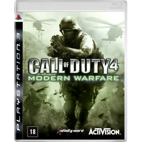 Call Of Duty Modern Warfare Ps3 - Mídia Física Novo Lacrado