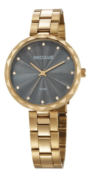 Relógio Feminino Seculus 77039lpskds1 Promoção