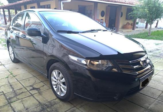 Honda City Lx 2012/2013 - Preto - Unico Dono - Muito Novo