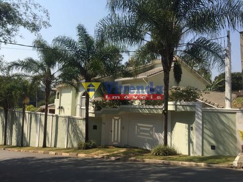 Imagem 1 de 15 de Mansão Em Condomínio Fechado Próximo Ao Aeroporto Executivo De São Roque. - As16806