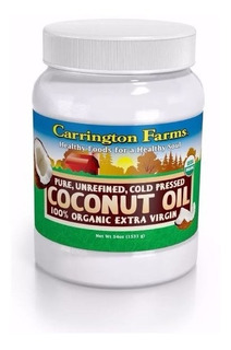 Aceite Virgen Coco1.6 Litros Natural 54oz Oil Organico 6653
