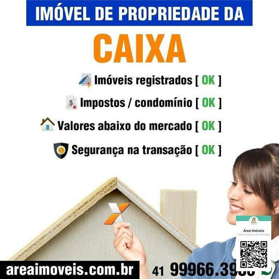 Casa Com 2 Dormitórios À Venda Por R$ 114.720,00 - Iguaçu - Araucária/pr - Ca0596