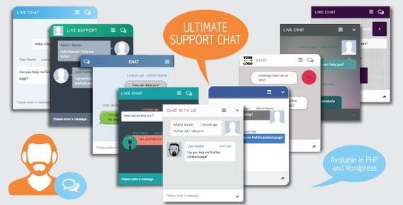 Script Php De Chat De Atendimento Online Ultimate Support