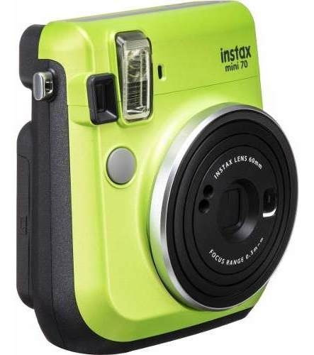 Câmera Instantânea Fujifilm Instax Mini 70 Verde - Promoção