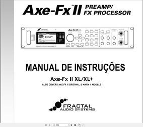 Manual Em Português Fractal Axe-fx 2