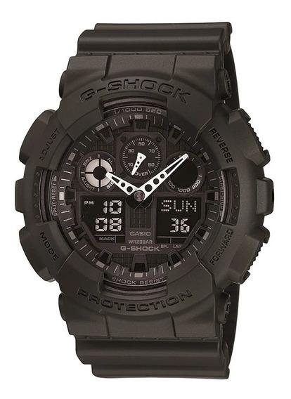 Relógio Casio G-shock Ga-100-1a1dr +nfe + Original Ga100