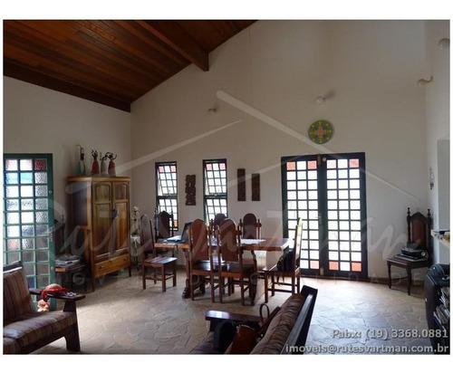 Chácara Com 3 Dormitórios À Venda, 1234 M² Por R$ 780.000,00 - Village Campinas - Campinas/sp - Ch0167