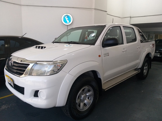 Toyota Hilux 4x4 Cab Dob Sr C/ab 3.0 2013 Financio Permuto