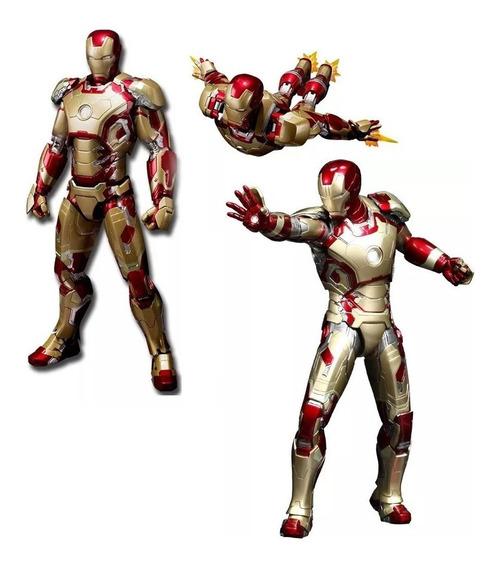 Homem De Ferro 3 Shfiguarts Mk42 Iron Man Shf Na Caixa