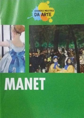 Imagem 1 de 1 de Dvd Manet - Grandes Mestres Da Arte - Original