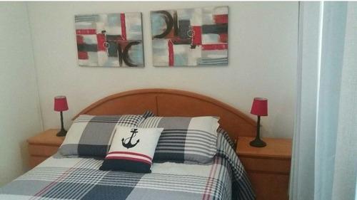 Imagen 1 de 14 de Divino Apartamento A Pasos De Playa Mansa Y Brava