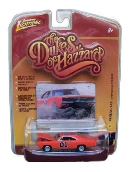 General Lee Dodge Charger Johnny Lightning Dukes Solo Envios
