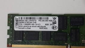 Memoria Smart 8gb 2rx4 Pc3l-10600r Servidor