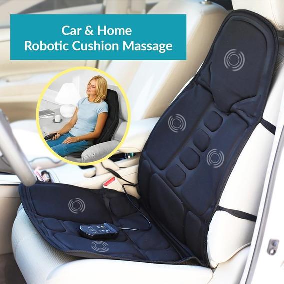 Encosto Almofada Assento Massageador Para Carro 110v/12v