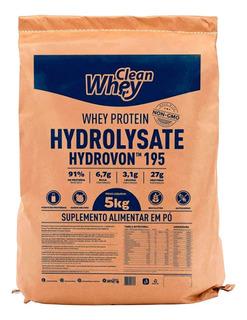 Clean Whey Hydrolysate Classic 5kg Hidrolisada - Com Nf
