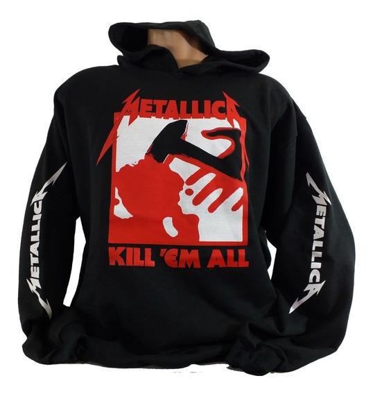 Blusa Metallica Kill Em All. Moletom Metallica Thrash Metal