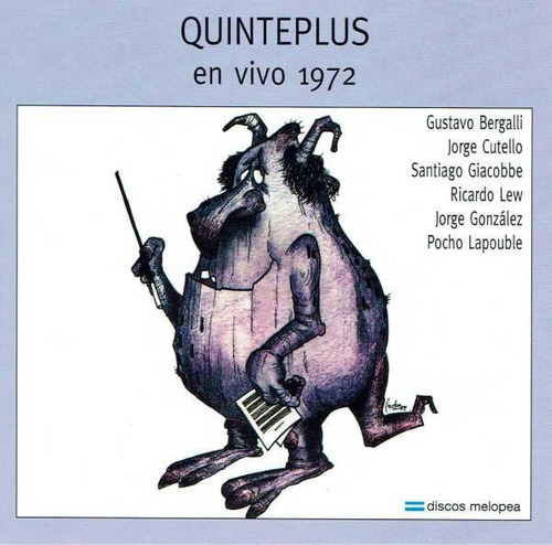 Quinteplus - En Vivo 1972 - Cd