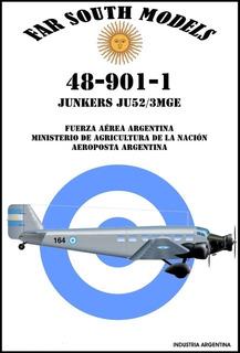 Far South Models 1/48 48-901-1 Junkers Ju52/3mge