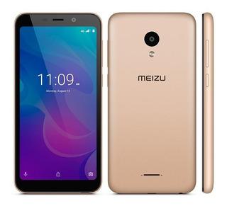 Smartphone Meizu C9 Pro Dourado,tela 5.45, 3gb + 32gb, Dual