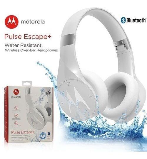 Fone De Ouvido Motorola Pulse Escape + Bluetooth Branco